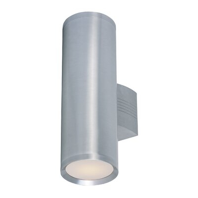 Orren Ellis Leilla 2 – Bulb Glass Outdoor Armed Sconce Pertaining To Cantrall 2 – Bulb Outdoor Armed Sconces (View 4 of 20)