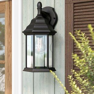 Outdoor Garage Lanterns   Wayfair With Regard To Abernethy Outdoor Wall Lanterns (View 11 of 20)