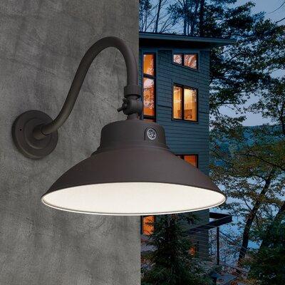 Outdoor Gooseneck Barn Light   Wayfair For Lainey Outdoor Barn Lights (View 10 of 20)