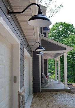 Outdoor Lighting Design Ideas, Pictures, Remodel And Decor Inside Arryonna Outdoor Barn Lights (View 14 of 20)