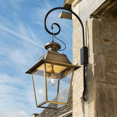 Outdoor Lighting   Garden Wall Lights   Hand Finished In With Clarence Black Outdoor Wall Lanterns (View 7 of 20)