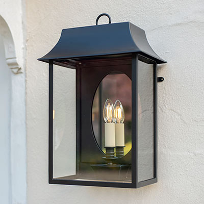 Outdoor Lighting   Outdoor Lanterns   Exterior Wall Lights Pertaining To Clarence Black Outdoor Wall Lanterns (View 9 of 20)