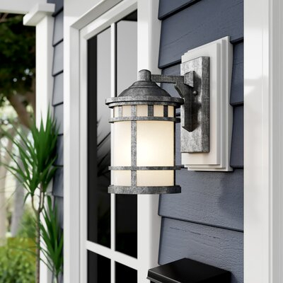 Outdoor Wall Lighting & Barn Lights You'll Love   Wayfair Intended For Cano Wall Lanterns (View 5 of 20)
