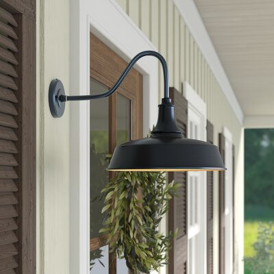 Outdoor Wall Lighting & Barn Lights You'll Love | Wayfair Pertaining To Arryonna Outdoor Barn Lights (View 6 of 20)