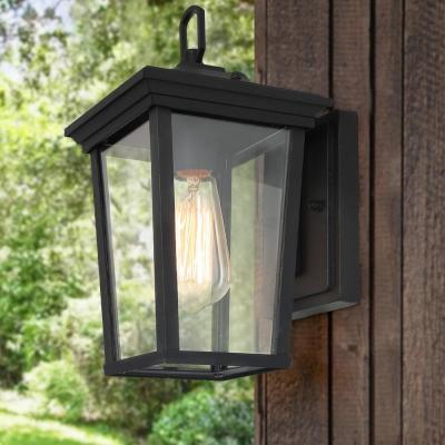 Outdoor Wall Lighting – Outdoor Lighting – The Home Depot Inside Clarisa Seeded Glass Outdoor Barn Lights With Dusk To Dawn (View 19 of 20)