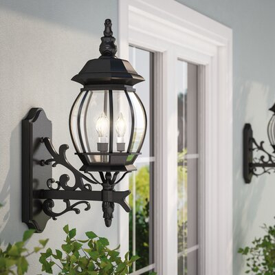 Outdoor Wall Lights & Sconces You'll Love In 2020 | Wayfair Intended For Oneal Outdoor Barn Lights (View 9 of 20)