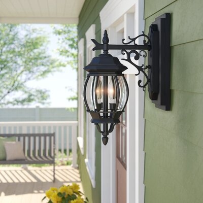 Outdoor Wall Lights & Sconces You'll Love In 2020 | Wayfair Pertaining To Oneal Outdoor Barn Lights (View 4 of 20)