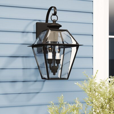 Outdoor Wall Lights & Sconces You'll Love In 2020 | Wayfair Within Oneal Outdoor Barn Lights (View 7 of 20)