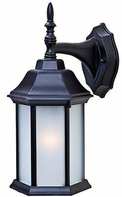 Outdoor Wall Mount Lantern Light Frosted Glass Panels With Payeur Hammered Glass Outdoor Wall Lanterns (View 4 of 20)