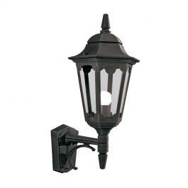Parish Up Lighting Wall Lantern Black With Regard To Garneau Black Wall Lanterns (View 15 of 20)