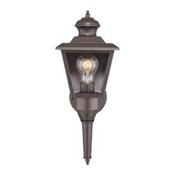 Patriot Lighting® Dualux® Brookline Iii Motion Sensor Within Brierly Oil Rubbed Bronze/black Outdoor Wall Lanterns (View 11 of 20)