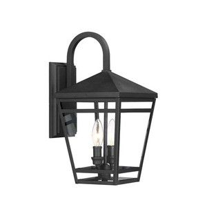 Phel4501blk Edgehill Entrance Outdoor Wall Light – Black In Armanno Matte Black Wall Lanterns (View 5 of 20)