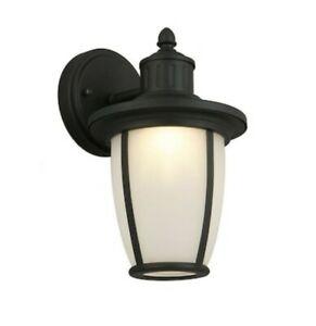 "Portfolio, 11"" Matte Black Led Outdoor Wall Light Lantern Intended For Binegar Matte Black Outdoor Wall Lanterns (View 18 of 20)"