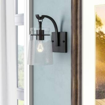 Portland 1 – Light Dimmable Armed Sconce   Sconces, Sconce Inside Dedmon Outdoor Armed Sconces (View 16 of 20)