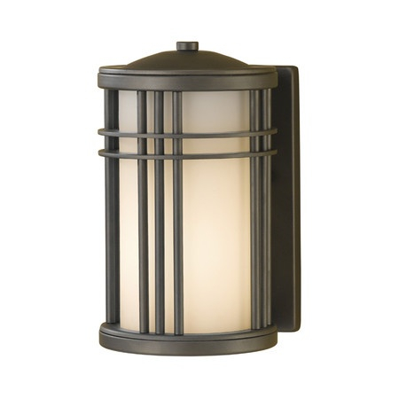 Prairie Style Outdoor Wall Lantern In Oil Rubbed Bronze In Brookland Outdoor Wall Lanterns (View 10 of 20)