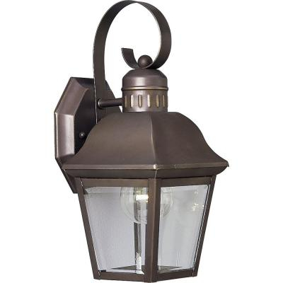 Progress Lighting Andover Collection 2 Light Antique Within Powell Beveled Glass Outdoor Wall Lanterns (View 2 of 20)