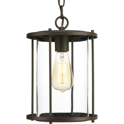 Progress Lighting Beaufort Collection 1 Light Textured Throughout Ketner Matte Black Integrated Led Seeded Glass Outdoor Flush Mount (View 13 of 20)