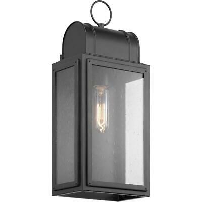 "Progress Lighting Canton Heights 18"" Black Outdoor Wall For Bensonhurst Matt Black Wall Lanterns (View 12 of 20)"