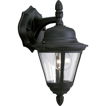 Progress Lighting P5862 31 Textured Black Westport 1 Light With Regard To Ciotti Black Outdoor Wall Lanterns (View 12 of 20)