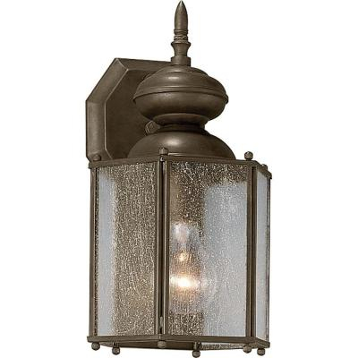 Progress Lighting Roman Coach Collection 1 Light Antique With Regard To Verne Oil Rubbed Bronze Beveled Glass Outdoor Wall Lanterns (View 9 of 20)