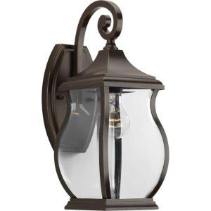 Progress Lighting Township Collection 1 Light Oil Rubbed Regarding Jordy Oil Rubbed Bronze Outdoor Wall Lanterns (View 5 of 20)