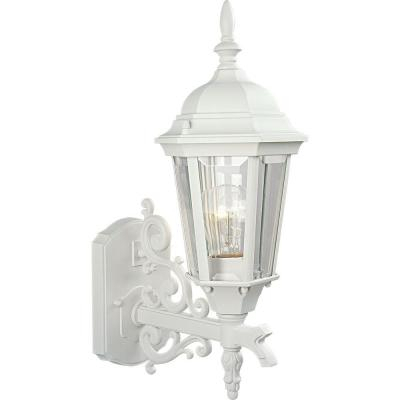 Progress Lighting Welbourne Collection 1 Light Textured For Wrentham Beveled Glass Outdoor Wall Lanterns (View 4 of 20)