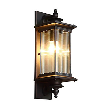 Qingming® Waterproof / Mini Style Retro / Country Flush With Brookland Outdoor Wall Lanterns (View 4 of 20)