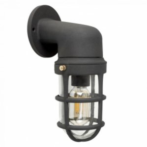 Quay Nautical Ip44 Outdoor Wall Light In Rockmeade Black Outdoor Wall Lanterns (View 11 of 20)
