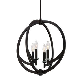 Quoizel On2818   Bronze Pendant Light, Quoizel, Light Inside Verne Oil Rubbed Bronze Beveled Glass Outdoor Wall Lanterns (View 20 of 20)