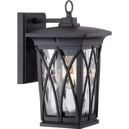 "Roseto Mvws3223myb Mystic Black Oregon 1 Light 11"" Tall With Jaceton Black Outdoor Wall Lanterns (View 9 of 20)"