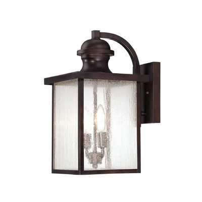 Savoy House Newberry 2 Light Outdoor Wall Lantern | Large For Clarisa Seeded Glass Outdoor Barn Lights With Dusk To Dawn (View 7 of 20)