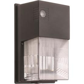 Shop Dusk To Dawn Flood Lights At Lowes Inside Ainsworth Earth Black Outdoor Wall Lanterns (View 11 of 20)