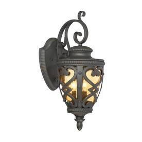 Shop Outdoor Wall Lights At Lowes With Regard To Brierly Oil Rubbed Bronze/black Outdoor Wall Lanterns (View 4 of 20)