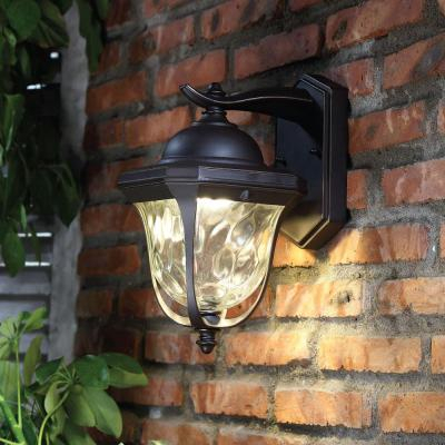 Stainless Steel – Outdoor Wall Lighting – Outdoor Lighting Inside Verne Oil Rubbed Bronze Beveled Glass Outdoor Wall Lanterns (View 3 of 20)