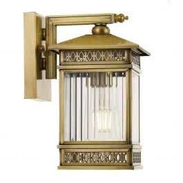 Telbix Avera Large Solid Brass Outdoor Coach Wall Light Inside Gillett Outdoor Wall Lanterns (View 18 of 20)