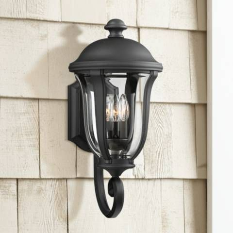 This Black Outdoor Wall Light Comes In A Beautiful Pertaining To Socorro Black Outdoor Wall Lanterns (View 4 of 20)