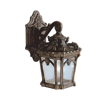 Tournai Small Outdoor Wall Lantern In A Londonderry Finish Pertaining To Meunier Glass Outdoor Wall Lanterns (View 5 of 20)
