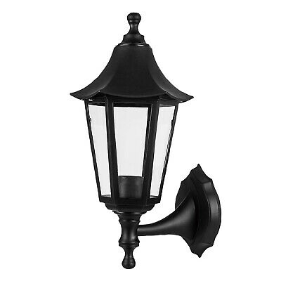 Traditional Led Wall Lights Outdoor Garden Fence Patio Within Borde Black Outdoor Wall Lanterns (View 10 of 20)