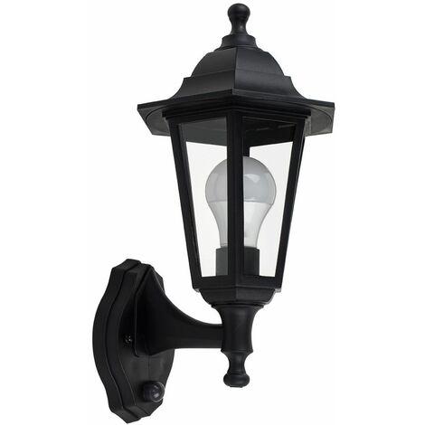 Popular Photo of Borde Black Outdoor Wall Lanterns