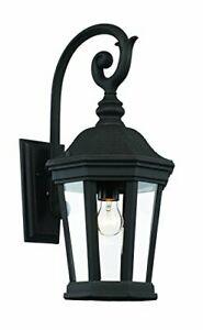 "Trans Globe Lighting 40401 Bk Outdoor Westfield 21"" Wall Inside Vendramin Black Glass Outdoor Wall Lanterns (View 9 of 20)"