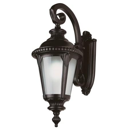 Trans Globe Lighting 5045 Bk Black Stonebridge Four Light Intended For Garneau Black Wall Lanterns (View 1 of 20)