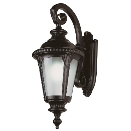 Trans Globe Lighting 5045 Bk Black Stonebridge Four Light With Edinburg Black Outdoor Wall Lanterns (View 10 of 20)
