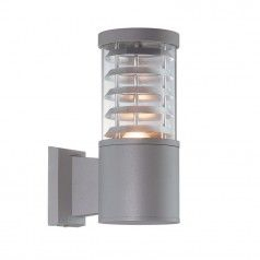 Tronco Outdoor Wall Light – Grey   Wall Lights, Outdoor Regarding Borde Black Outdoor Wall Lanterns (View 18 of 20)