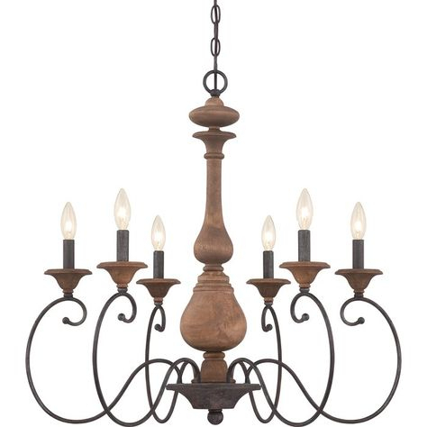 Turcot 6 Light Candle Style Classic / Traditional For Turcot Wall Lanterns (View 2 of 11)