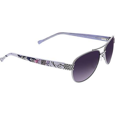 Vera Bradley Women's Marlene Aviator Sunglasses [56 For Vera Outdoor Wall Lanterns (View 19 of 20)