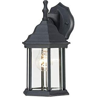 Westinghouse 6783100 One Light Exterior Wall Lantern For Bayou Beveled Glass Outdoor Wall Lanterns (View 12 of 20)