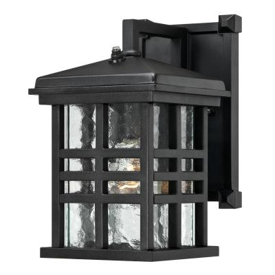 Westinghouse One Light Outdoor Wall Lantern With Dusk To In Edinburg Black Outdoor Wall Lanterns (View 13 of 20)