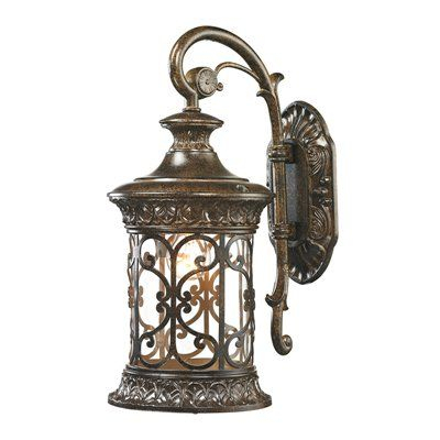 Westmore Lighting Outdoor Wall Light 45080/1 Orlean 1 Pertaining To Powell Beveled Glass Outdoor Wall Lanterns (View 18 of 20)