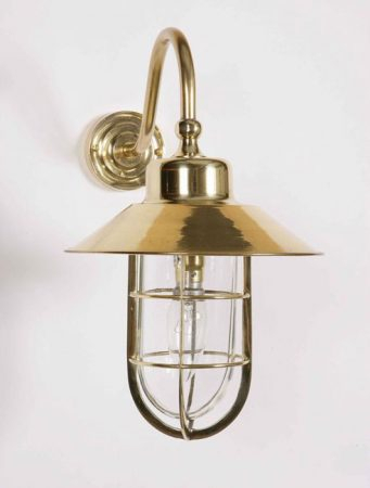 Wheelhouse Solid Brass Period Outdoor Wall Lantern 448w With Rockmeade Black Outdoor Wall Lanterns (View 7 of 20)