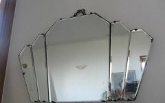 Antique Art Deco Mirrors